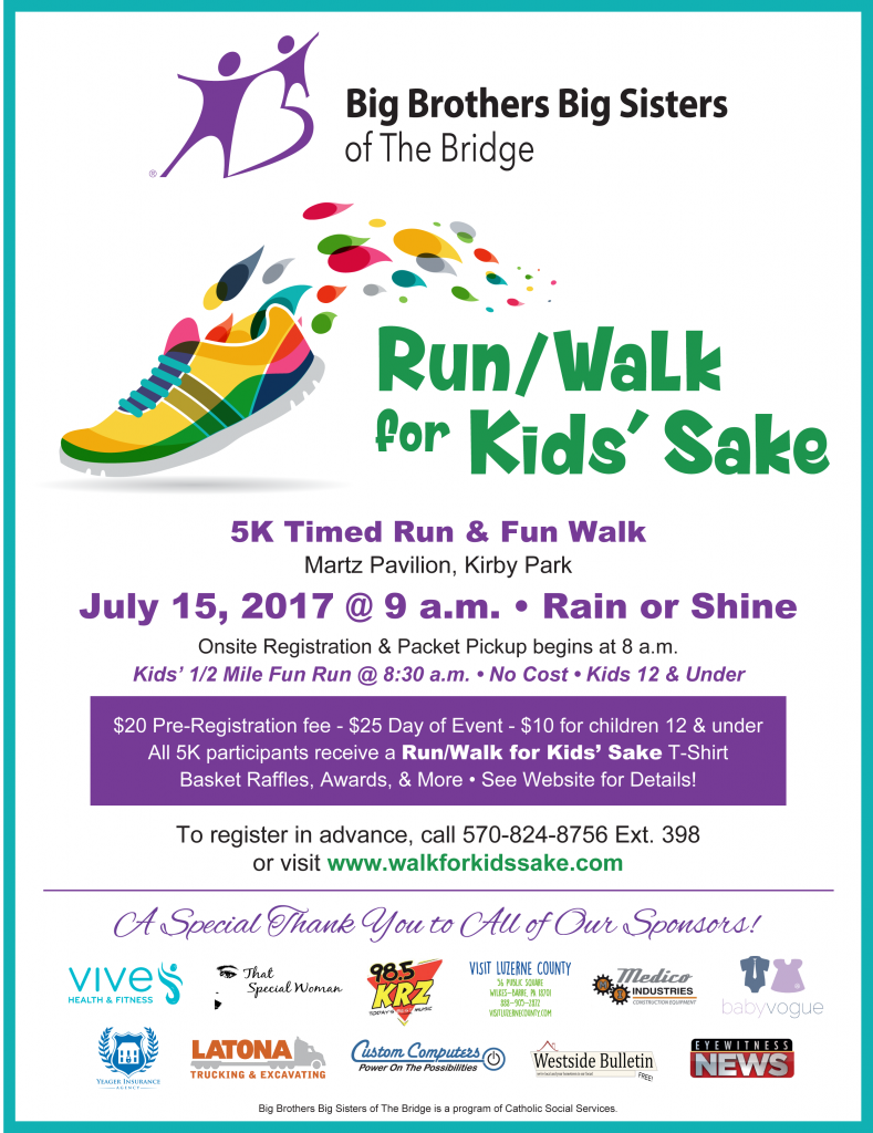 Run / Walk for Kids' Sake 2017