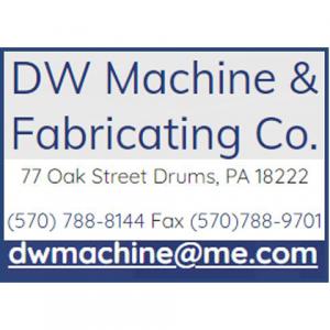 D.W. MACHINE AND FABRICATING LOGO 2021 QUIZ